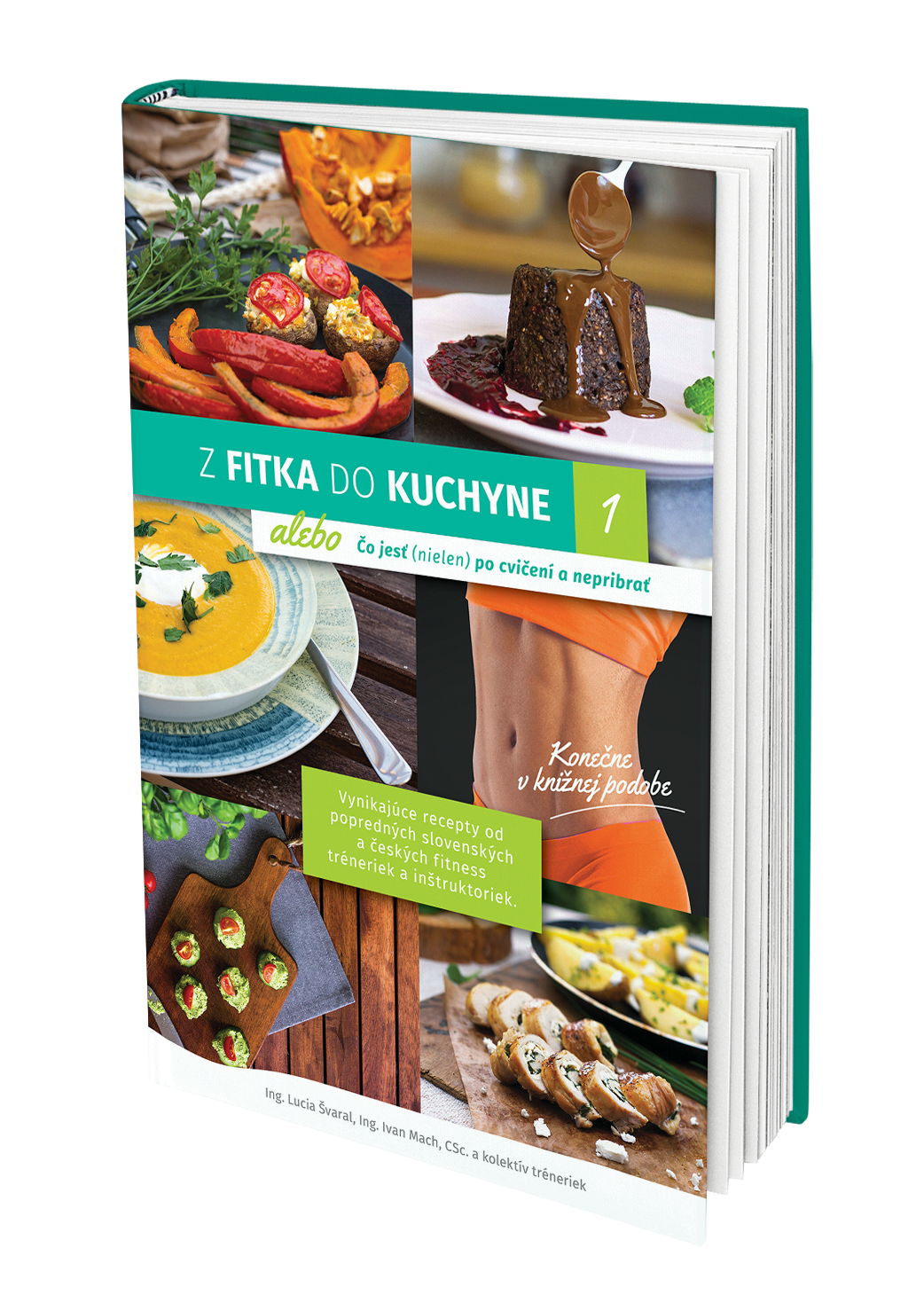 Z fitka do kuchyne 1 kuchárska kniha
